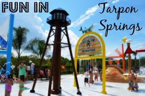 Read more about the article TARPON SPRINGS SPLASH PARK, DOG PARK, FITNESS PARK – FUN, FUN, FUN!