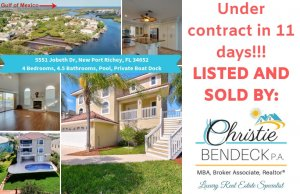 UNDER CONTRACT IN 11 DAYS!