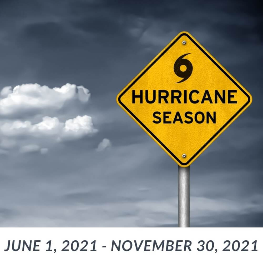 Read more about the article Hurricane Season is Here!  Be Prepared!